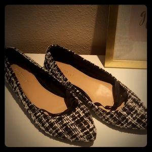 Lane Bryant Tweed Flats